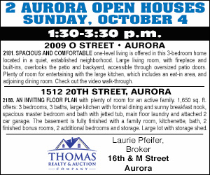 Thomas Realty Open Houses