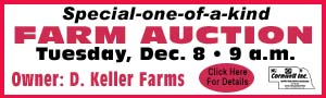 Cornwell Keller Farm Auction