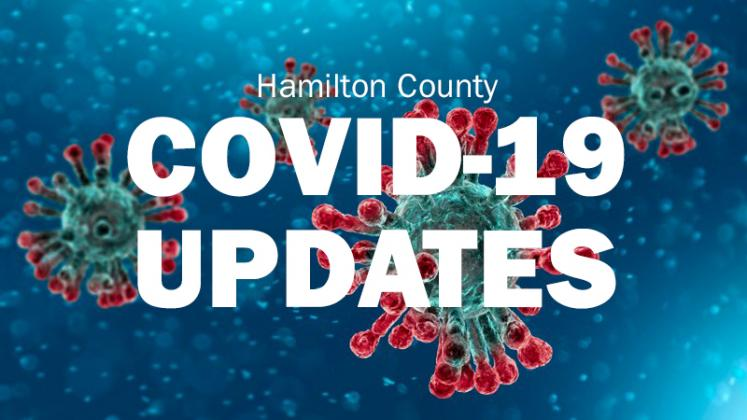 Kirt Smith updated Hamilton County Commissioners on Monday of the status of COVID in the area.