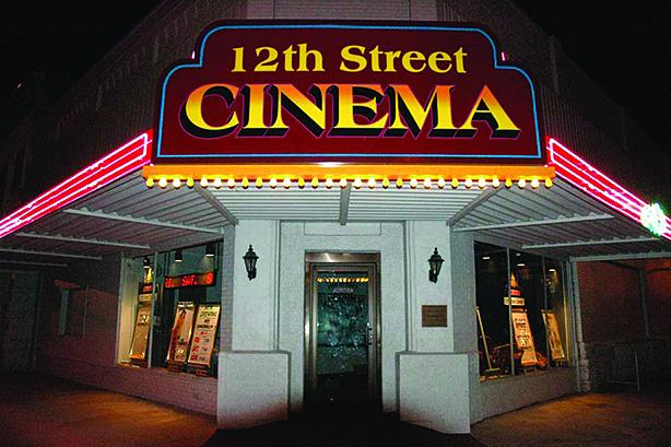 The 12th Street Cinema has been dark during the pandemic due to COVID concerns which continue to be a factor.