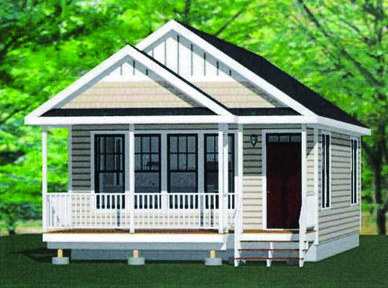 An example of the proposed tiny homes.
