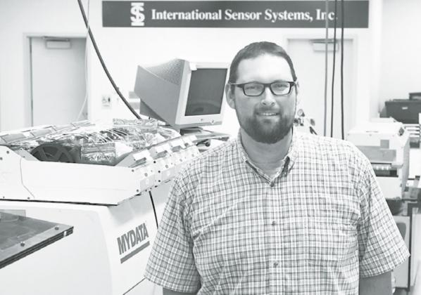McCook native Gary Bales was named as the new president and CEO at International Sensor Systems, Inc., effective earlier this month. News-Register/ Kurt Johnson