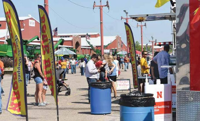 The crowds and list of exhibitors and activities were smaller at this year's Nebraska State Fair, where the focus in 2020 was on youth and animal shows. News-Register/Kurt Johnson