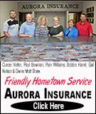 Aurora Insurance Advertisement